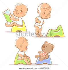 Image result for infant holding book flat vector