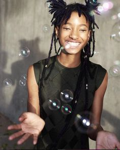Snapshot Jaden Smith and Willow Smith by Peter Ash Lee for Vogue Korea