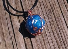 Dice Necklace D20 Wire Wrapped Die Dungeons and Dragons Geekery Gamer Geek Jewelry Twenty Sided Dice