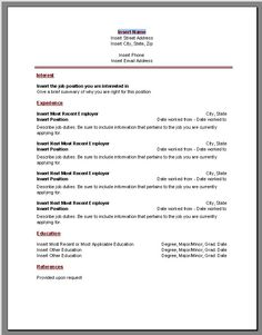 resume word templates at the eform word templates shoppe - Resume Downloadable Templates