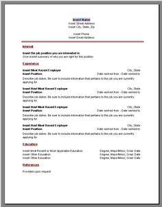 free job resume maker httpwwwresumecareerinfofree