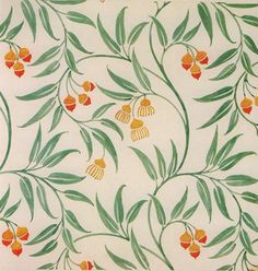 Wallpaper design by C F A Voysey, produced in 1928 IrfanView HTML-Thumbnails