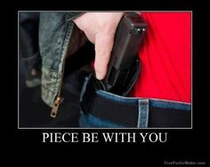 Hot Dogs & Guns: Piece Be With You