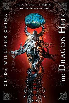 """Book cover of """"The Dragon Heir"""""""