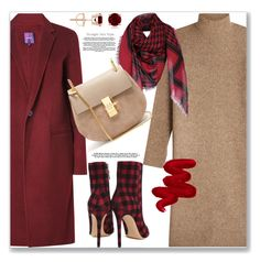 """""""Sweater dresses"""" by jan31 ❤ liked on Polyvore featuring By Malene Birger, Theory, Lerre, Karl Lagerfeld, Chloé and Obsessive Compulsive Cosmetics"""