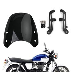 Triumph Motorcycle Parts, Triumph Motorcycles, 17 Black, Solid Black, Triumph Bonneville T100, Dark Smoke, Aftermarket Parts, Motorcycle Parts And Accessories, Just Go