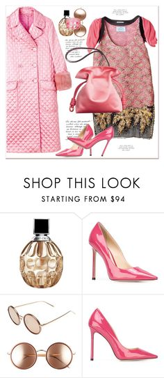 """""""Winter To Spring..."""" by dragananovcic ❤ liked on Polyvore featuring Jimmy Choo and Linda Farrow"""