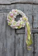 2014 Wianek wielkanocny pastelowy-dekoracje wielkanocne, ozdoby na Wielkanoc