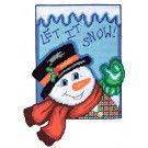 Let It Snow Plastic Canvas Kit ()