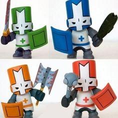 Castle crashers paper craft elijah will love it - Castle crashers anime ...