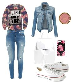 """""""Untitled #5"""" by medina-besic ❤ liked on Polyvore featuring Ted Baker, Converse, Mansur Gavriel, Kate Spade, Milani and LE3NO"""