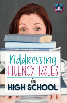 What can teachers do when high school students struggle with fluency? Try these strategies to improve fluency issues with older students. #readingfluency #highschool