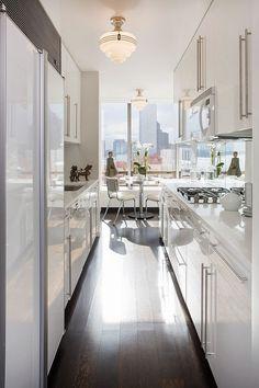 Five Ways to Keep a White-on-White Modern Kitchen Warm | Maria Killam | True Colour Expert | Decorator