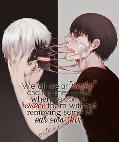 Tokyo Ghoul Quotes – – Zitate – - New Sites Sad Anime Quotes, Manga Quotes, Tokyo Ghoul Quotes, Tokyo Ghoul Wallpapers, Dark Quotes, Anime Kunst, Dark Anime, Badass Quotes, Kaneki