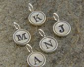 Personalized Jewelry - Sterling Silver Initial Necklace