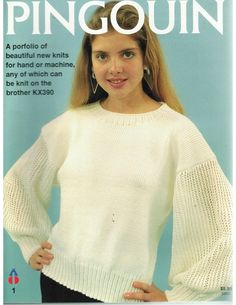 PINGOUIN KNITTING MAGAZINE #1 ULTRA RARE MACHINE OR HAND KNIT WITH BROTHER KX390 | eBay