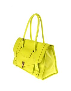 PROENZA SCHOULER Large leather bag/ Collection Spring-Summer 2012, $1230,00