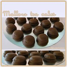 Marshmallow tea cakes