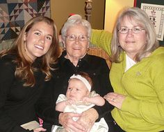 Three generations of Chicago moms share their best baby advice