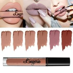 The lip gloss, with lightsome moist texture, present the dry mist matte effect, moisturize lips at the same time, make your lips more bright and moving. The characteristics of this lipstick is, no rub
