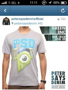 PeterSaysDenim!! Love it!!!!