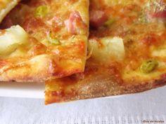 Bloc de recetas: Pizza Tropical, masa sourdougth de Peter Reinhart