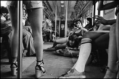 A Train Susan Meiselas