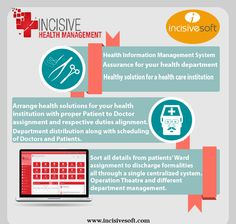 IncisveHIMS-Health Information Management System..! Health Information Management System Assurance for your health department Healthy Solution for a health care institution  Order us : sales@incisivesoft.com / 03458288618-19