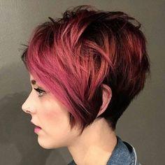 Was ist Deine Lieblingsfarbe? Schau Dir hier eine coole Mischung an Kurzhaarfrisuren in verschiedenen Haarfarben an! - Seite 3 von 10 - Neue Frisur