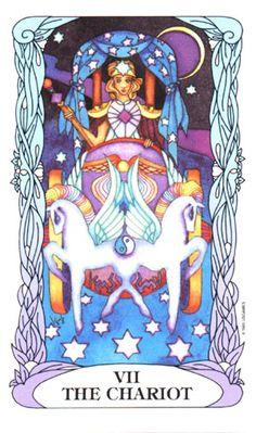 The Chariot ~ Tarot of a Moon Garden
