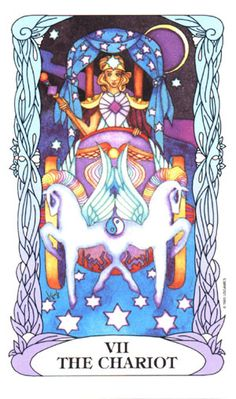 The Chariot ~ Tarot of a Moon Garden