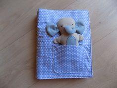 LibroATTIVO- libro in stoffa con elefantino : Giochi, giocattoli di a4mani