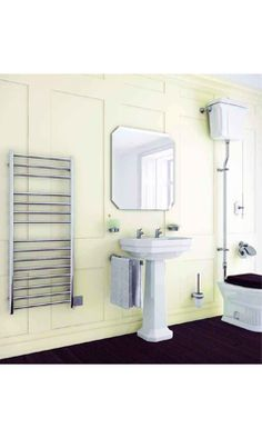 DQ Heating Siena Electric Only Vertical Heated Towel Rail Radiator Electric Radiators, Heated Towel Rail, Siena