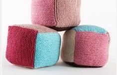 Baby Spielwürfel stricken