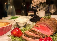 Prime Rib Roast with Garlic and Rosemary recipe from Nordstrom. Photo by Jeff Powell.
