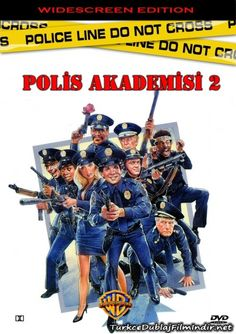 Polis Akademisi 2 - Police Academy 2 Their First Assignment - 1985 - DVDRip Film Afis Movie Poster