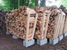 outdoor firewood ideas - DIY outdoor firewood rack ideas will help you to keep the piles of firewood dry so you can enjoy bonfires in your back yard. Find the best designs for 2018! #firewood #oudoorfirewood #firewoodideas #diyfirewood