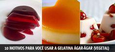 10 motivos para você usar a gelatina ágar-ágar (vegetal) ao invés da convencional (animal) | Vista-se