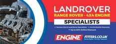 Land Rover, Range Rover & 4X4 engines for sale | Engine Fitters For more detail:https://www.enginefitters.co.uk