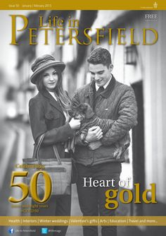 ~ Heart of gold ~ Life in Petersfield Jan-Feb 50 issues and eight years (Photo by Boo Face Photography) #locallife #Petersfield #Hampshire