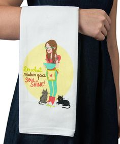 Loving this 'Soul Shine' Dish Towel on #zulily! #zulilyfinds
