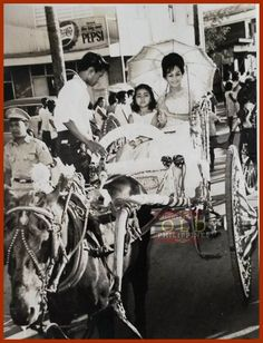 Street Parade in Manila, Real photo from private collector shared by **Isagani** via Discovering the Old Philippines Philippines Culture, Filipino Culture, Pinoy, Vintage Pictures, Manila, Cool Photos, Interesting Photos, Old Things, 1950s