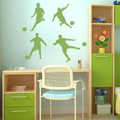 Soccer Player Wall Decals