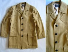 Vintage Pendleton camel wool coat fully lined by afterglowvintage, $154.00