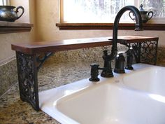 Ornate Over-the-Sink Shelf by OldWorldOdditiesEtsy on Etsy