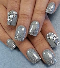 Nail design 2014 - Me likey grey all day