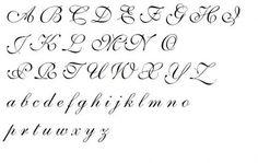 kaligrafia litery ozdobne - Szukaj w Google