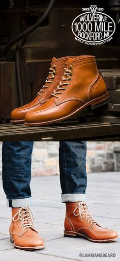 8f117c4b7f9 135 years of quality craftsmanship and classic style. Shop Wolverine ...
