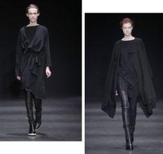 PFW| Ann Demeulemeester AW14 iamnrcfw, iamnrc, ootd, fashion, catwalk