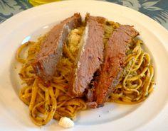 Peruvian Dinner – Tallarines Verdes | Eleni's Culinary Journey